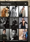 Screen shot of Coala Apps Daniel Henney Photo Gallery